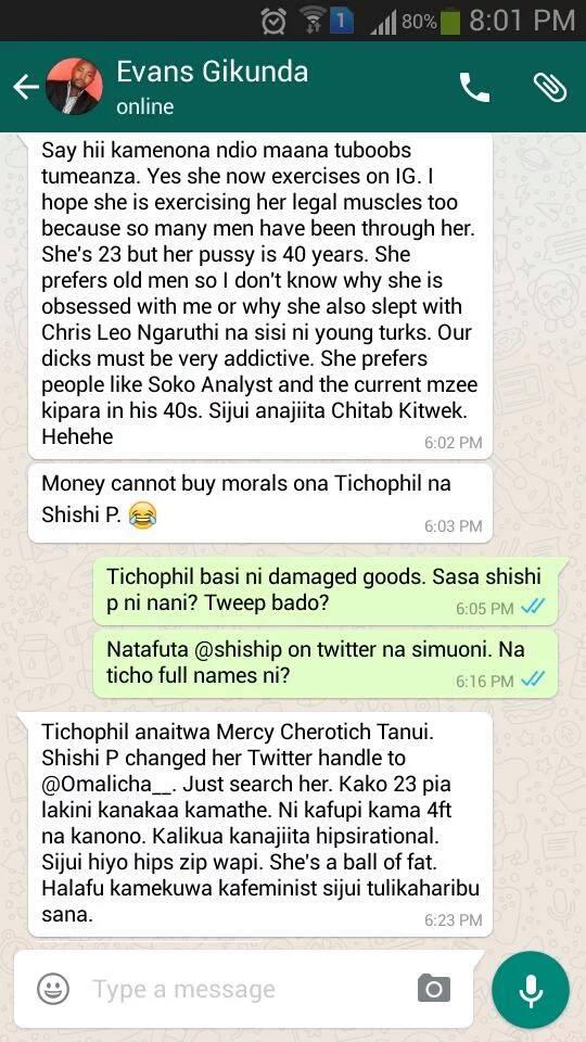 Shocking Radio Africa Caroline Mutoko Sex Scandal Screenshots Leakedcheck Screenshots -3301
